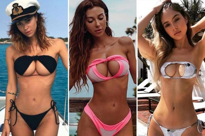 The Upside-Down Bikini Trend