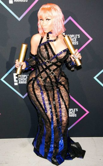 Nicki Minaj Slays At E! People's Choice Awards