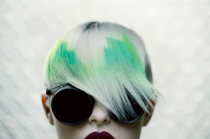 Pixelated Hair Color Is The Coolest New Trend