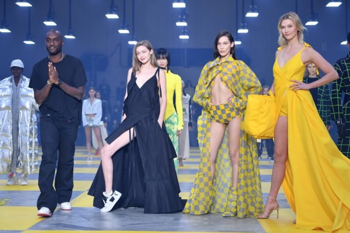 Hadid Sisters Unite To Close Off-White Fashion Show