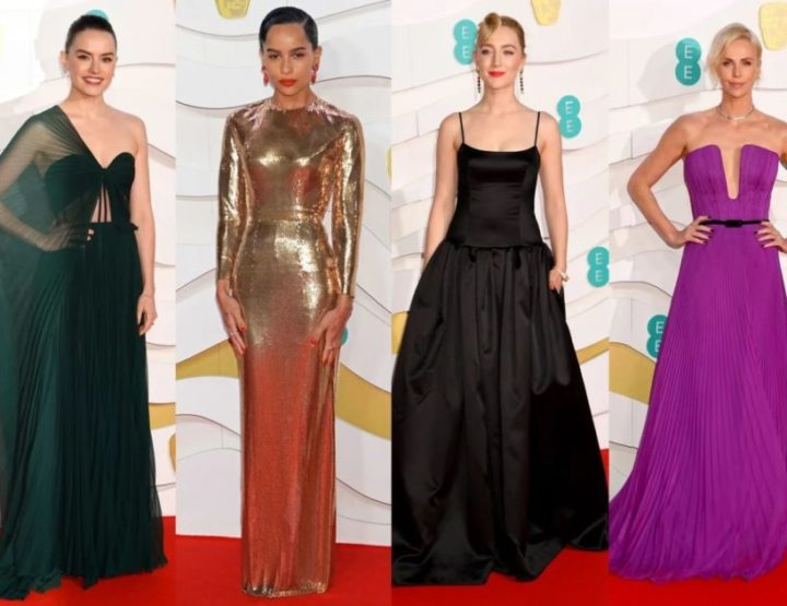 The Best Of The Best From The BAFTAs Red Carpet